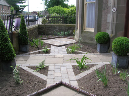 A Formal Front Garden